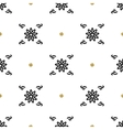 Trendy floral pattern Asian motifs seamless vector image