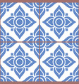 azujelo lisbon tile pattern - lisbon tiles vector image vector image