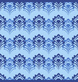 background - blue flowers vector image