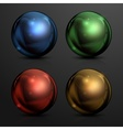 Color balls vector image vector image