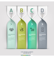 Communication technology spiral options banner vector | Price: 3 Credits (USD $3)