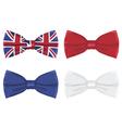 uk bow tie vector image