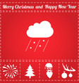 bad weather icon vector image vector image