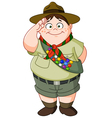 boy scout vector image vector image