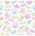 carnival seamless pattern vector image vector image