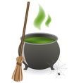 Halloween witches cauldron vector | Price: 3 Credits (USD $3)