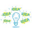 handwriting crayon sketch idea concept design vector image vector image