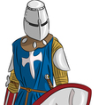 knight 6 vector image vector image