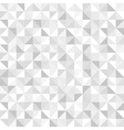Seamless white geometric pattern vector image vector image