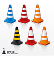 Traffic cones vector | Price: 1 Credit (USD $1)