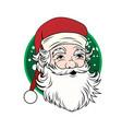 vintage santa claus - vector image vector image