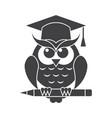 wisdom icon vector image vector image