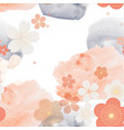 abstract seamless background with watercolor vector image vector image