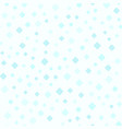 cyan rounded diamond pattern seamless background vector image vector image