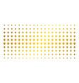 light bulb golden halftone grid vector image