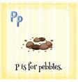 Pebbles vector image vector image