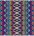 seamless ethnic tribal indianl Geometric print vector image vector image