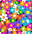 Seamless pattern Colorful flower background vector image vector image