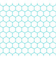 seamless pattern honeycomb hexagon shapes vector image vector image