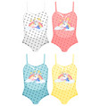 set female swimsuit vector image vector image