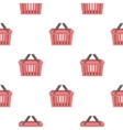Shopping busket icon in cartoon style isolated on vector image vector image