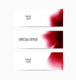 special-offer-red vector image vector image