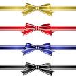 Silk Ribbons Set vector image