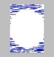 Blank horizontal stripe background poster vector image