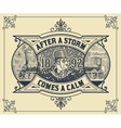 Card Victorian style vector image vector image