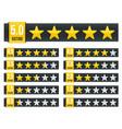 Creative star rating vote