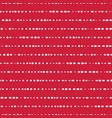 horizontal lines seamless background red vector image vector image