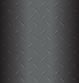 Metal list with rhombus shapes grey background vector image