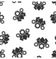 operation project icon seamless pattern vector image
