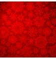 Seamless deep red christmas pattern EPS 8 vector image vector image