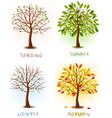 set of season vector image