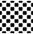 tile black and white pattern for seamless vector image vector image