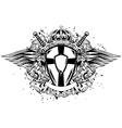 leon board corona swords vector image