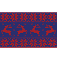blue and red jumper vector image