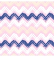 Hand painted chevron pattern vector image vector image