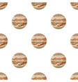 jupiter icon in cartoon style isolated on white vector image vector image