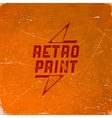 Old scratched card with halftone gradient vector image