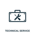 technical service icon symbol creative sign from vector image