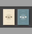 wedding invitations save date cards design vector image vector image