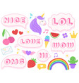 Cute lol stickers wow omg and nice girls doll