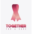 Fight against breast cancer campaign vector image vector image