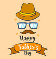 happy father day background style card vector image vector image