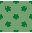 Leaves of maple on light-green background vector image