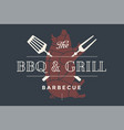 logo template of restaurant vector image vector image