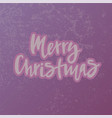 merry christmas for invitation postcard poster vector image vector image