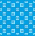 modern window frame pattern seamless blue vector image vector image